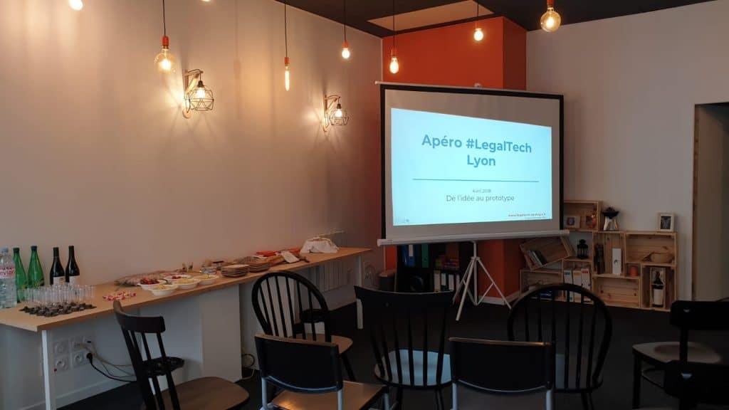 Apéro LegalTech Lyon - Glynnis Makoundou - Legaltech Strategie
